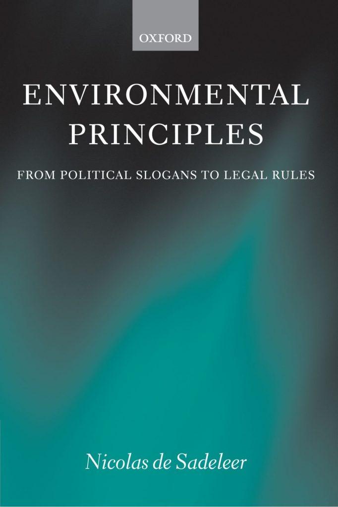 Book Cover: Environmental Principles