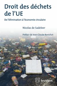 Book Cover: Droit des déchets de l'UE